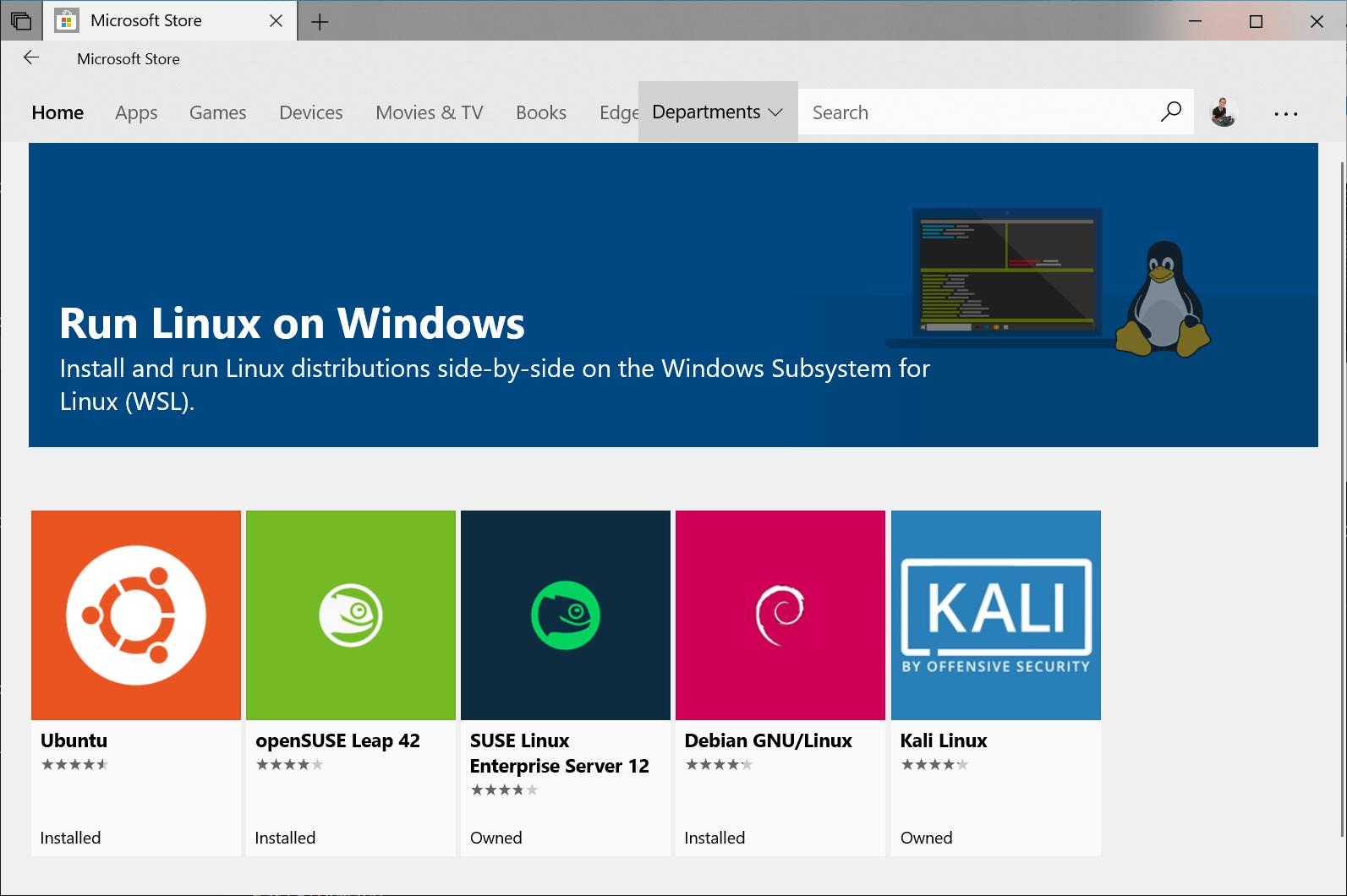 Full Linux Kernel Is Available In Windows 10 Via WSL 2
